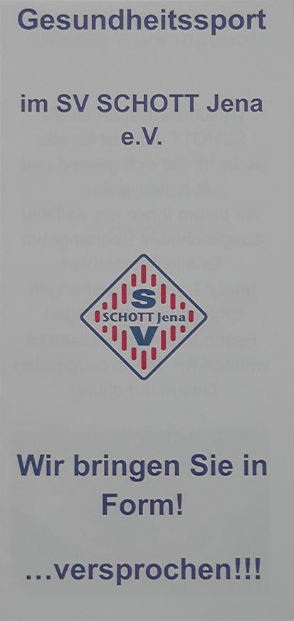 Frontseite Flyer